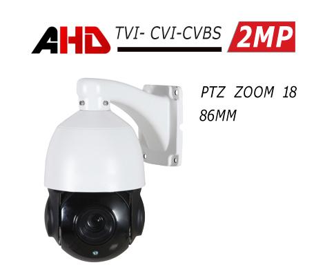 מצלמת אבטחה ממונעת 2MP AHD PTZ