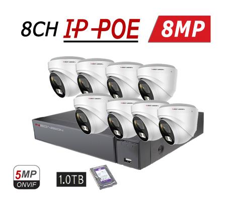 מצלמות אבטחה IP MPOE 4K