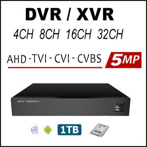 מכשירי הקלטה XVR 4CH 5MP