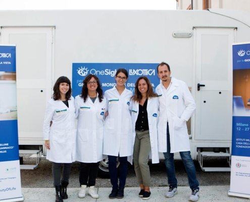 Neovision agli Istituti Milanesi Martinitt e Stelline con Luxottica e OneSight per la Giornata Mondiale della Vista