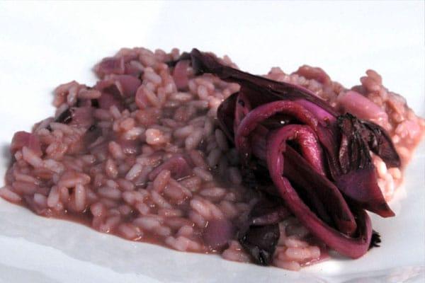 Ricette per una vista sana: Risotto al radicchio rosso di Treviso