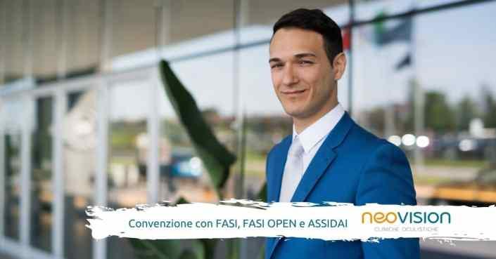 Convenzione Fasi, Fasi Open e Assidai con Neovision Cliniche Oculistiche