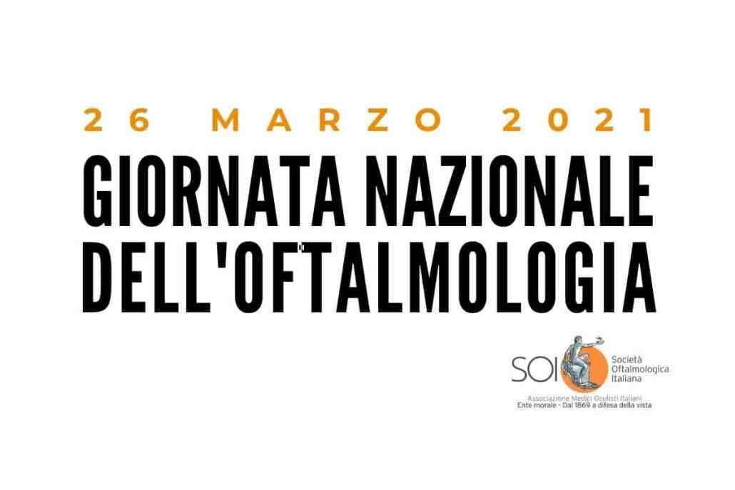 Giornata Nazionale dell'Oftalmologia