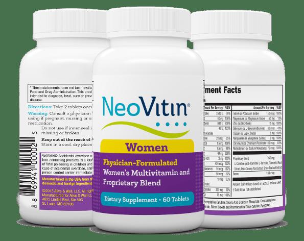 NeoVitin Womens Multivitamin 3 Bottles