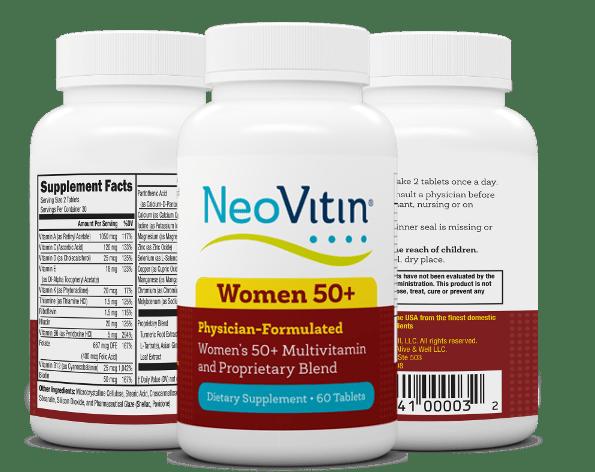 Neovitin Womens 50 Plus Multivitamin 3 Bottles