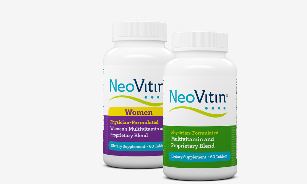 NeoVitin Original and Women Multivitamin Bottle