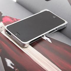COREMECHATEC MOBiCRAB メタルバンパー for iPhone5(シルバー) RX-IP5MB-SL