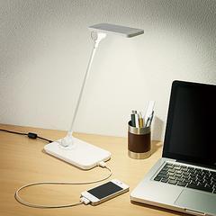 LEDデスクライト「PETIGENT」 LEC-SN01WH