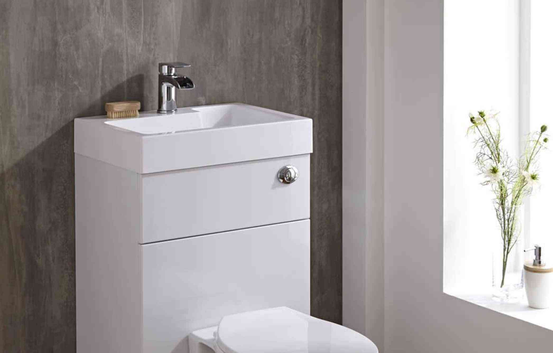 les toilettes avec lavabo integre une