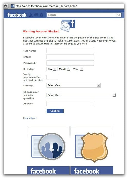 facebook phishing scheme security stolen password ?ac?bóok S?cur?y