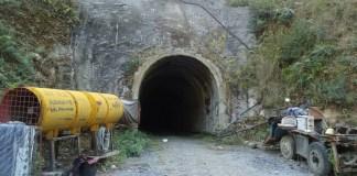 Kulekhani III HEP Adit Tunnel