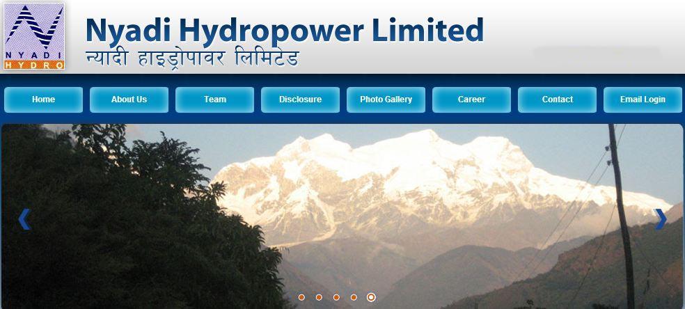 Epc Agreement Of Nyadi Hydropower Project Signed Nepal Energy Forum