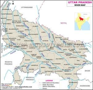 uttarpradesh-river-map
