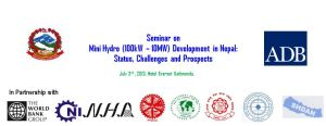 Seminar on Mini Hydropower Development