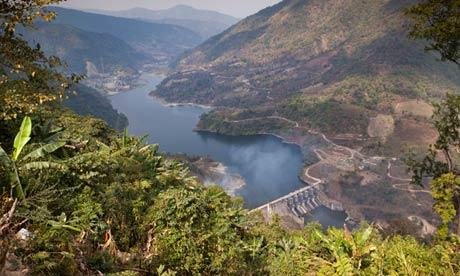 The Ranganadi hydroelectric project in Arunachal Pradesh, India. Photograph: Alamy