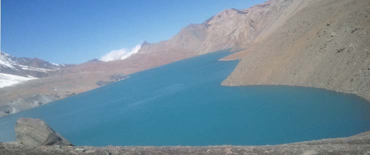 one of the world highest lake of the world