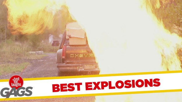 Best Explosion Pranks – Just for Laughs Gags