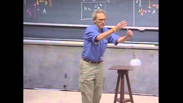 Cool Physics teacher gives awesome demo