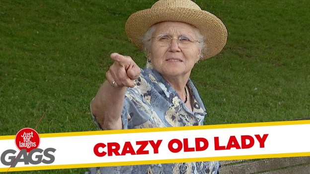 Crazy Old Lady Pranks