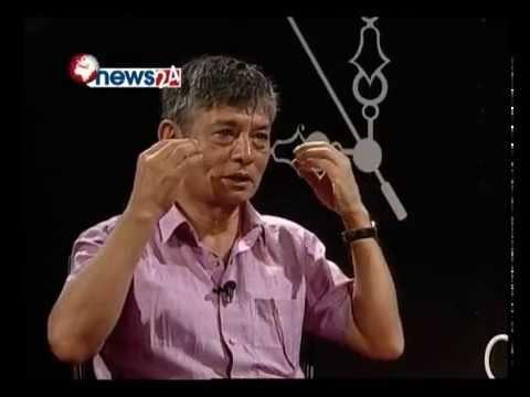 Madan Krishna Shrestha in Tough Talk with Dil Bhusan Pathak