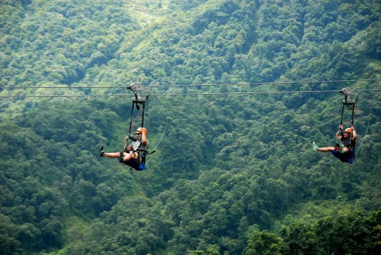 World's most extreme zipline – ZipFlyer Nepal