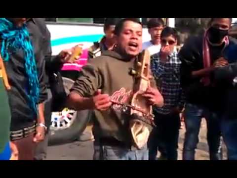 Nepali Street Singer Performing Funny Songs