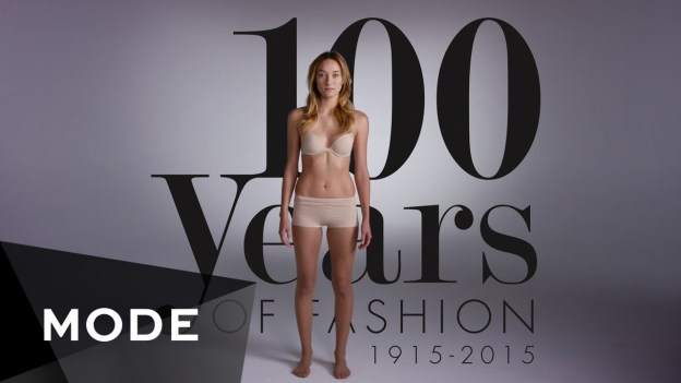 100 Years of Women's Fashion in 2 Minutes
