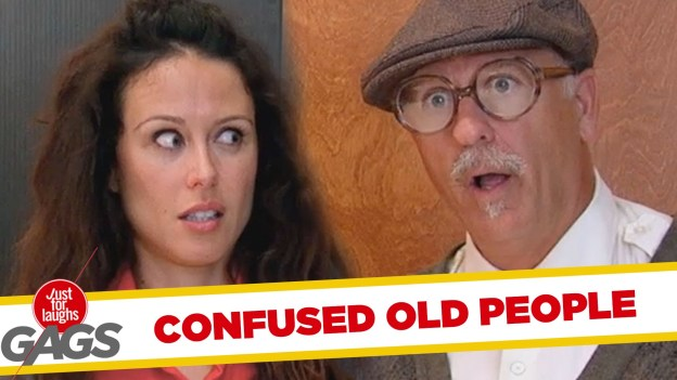 Confused Old People – Best of Just For Laughs Gags