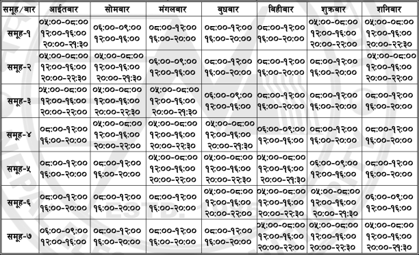 Load Shedding Schedule Changed, Increased to 58 Hours Weekly