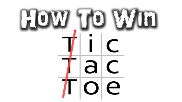How to Win Tic Tac Toe Game