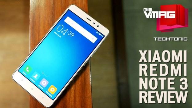 Gadget Review: Xiaomi Redmi Note 3