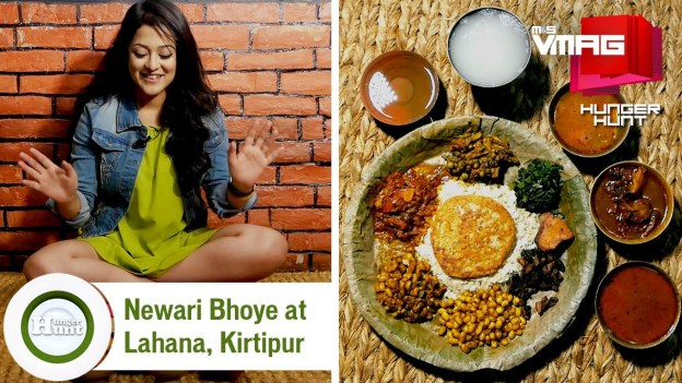 HUNGER HUNT: Newari Bhoye at Newa Lahana in Kirtipur