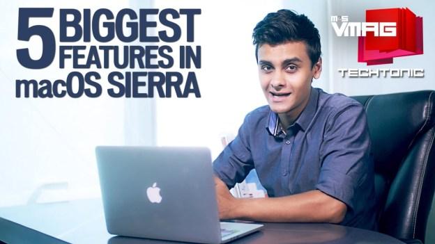 Techtonic: Top 5 Features in macOS Sierra