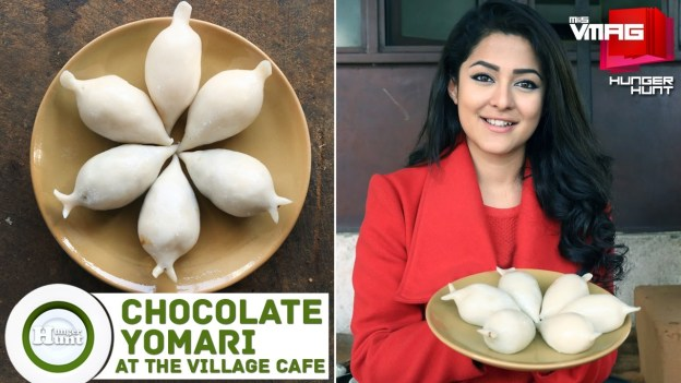 HUNGER HUNT: Fresh Chocolate Yomari