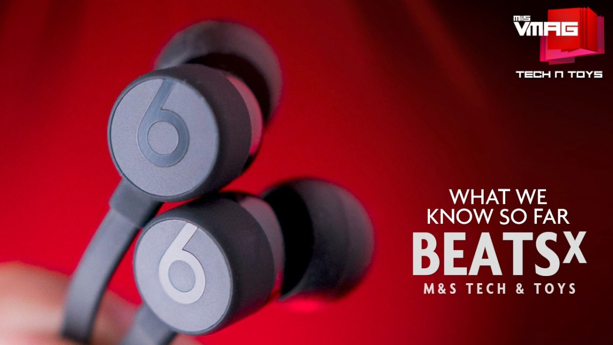 TECH & TOYS: BEATS X - WHAT WE KNOW SO FAR