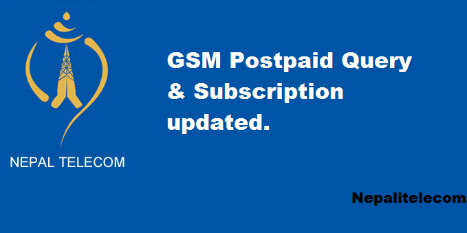 Ntc GSM Postpaid susbcription procedure