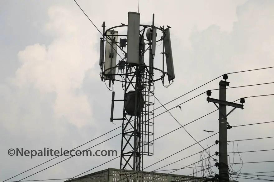 Nepal telecom tower