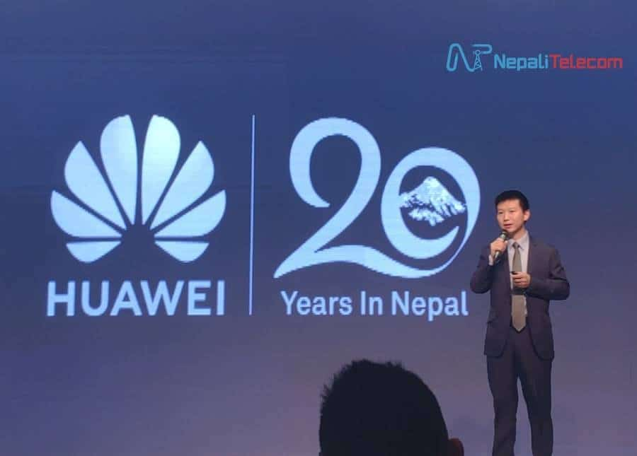 Huawei 20 years Nepal