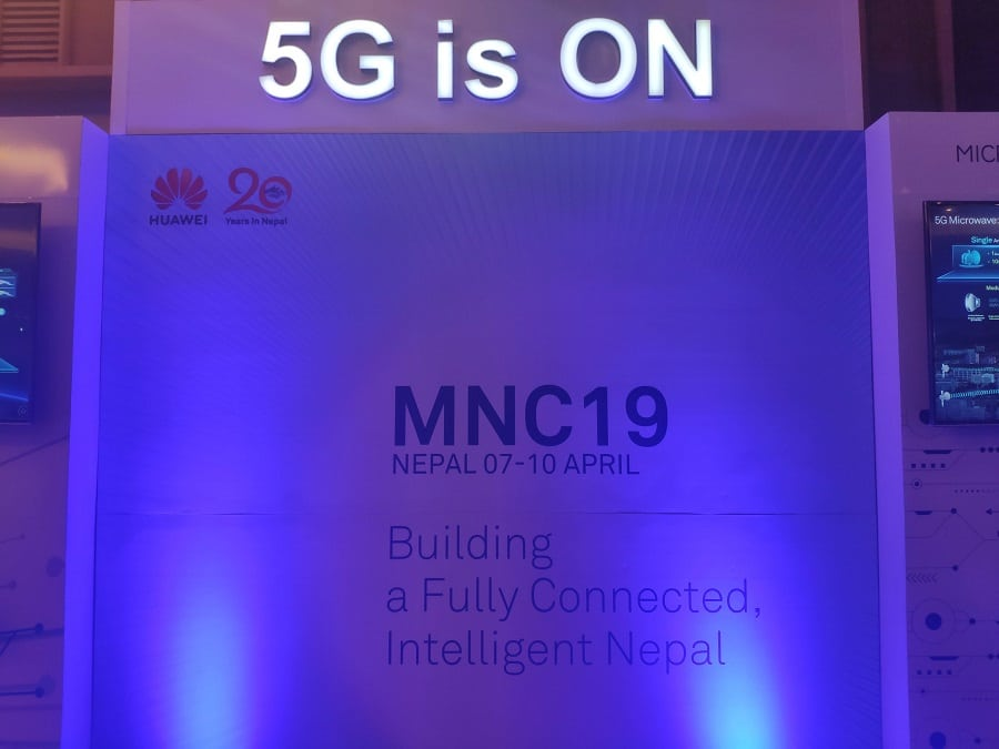 5G is ON Mobile Nepal congress