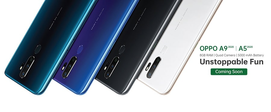 Oppo A9 A5 2020 launch Nepal