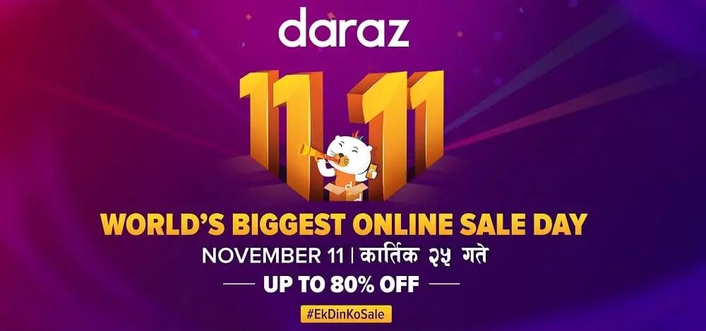 Daraz 11.11 break record