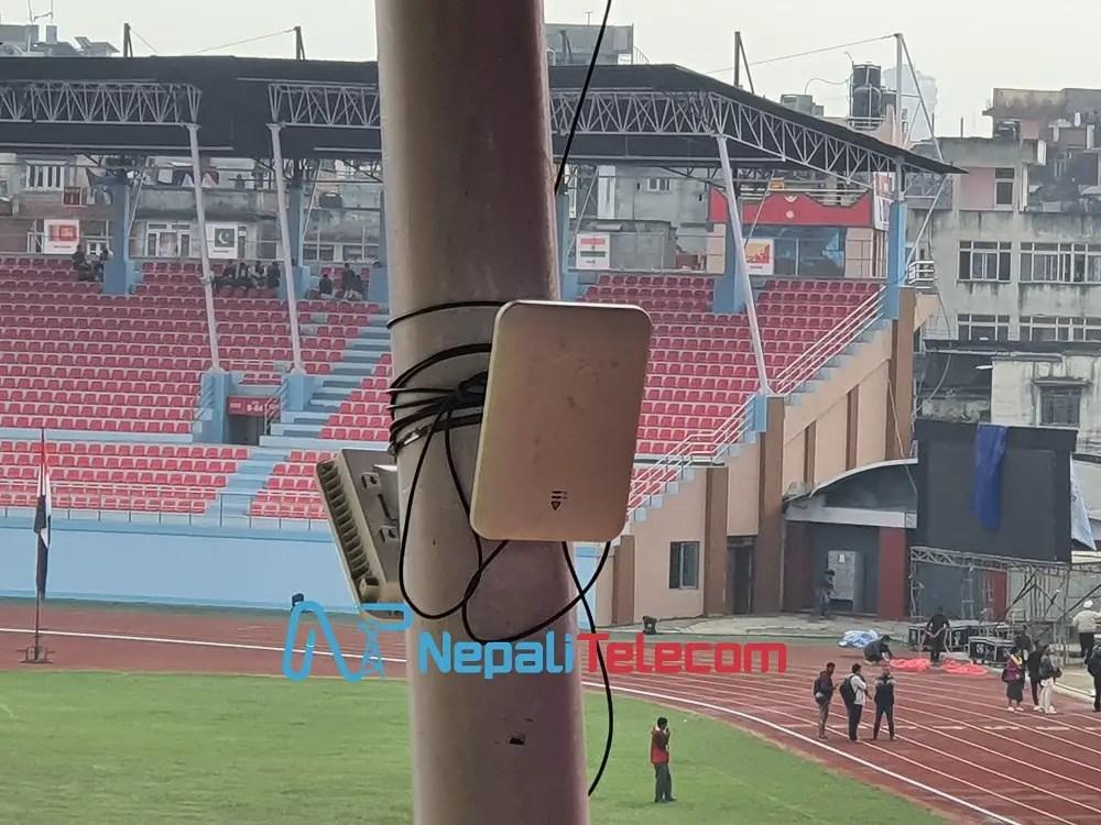 WordLink free Wifi Dasarath Rangashala stadium