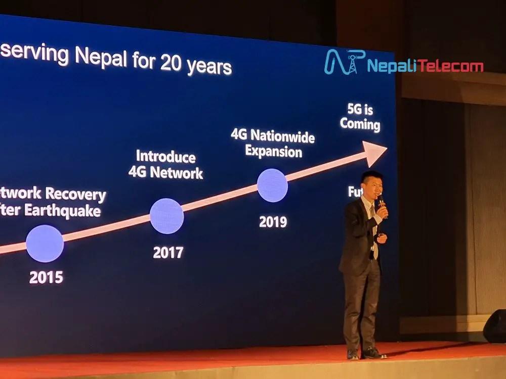 Huawei CEO Danny Deng