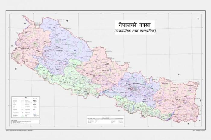 New Nepal map 2020