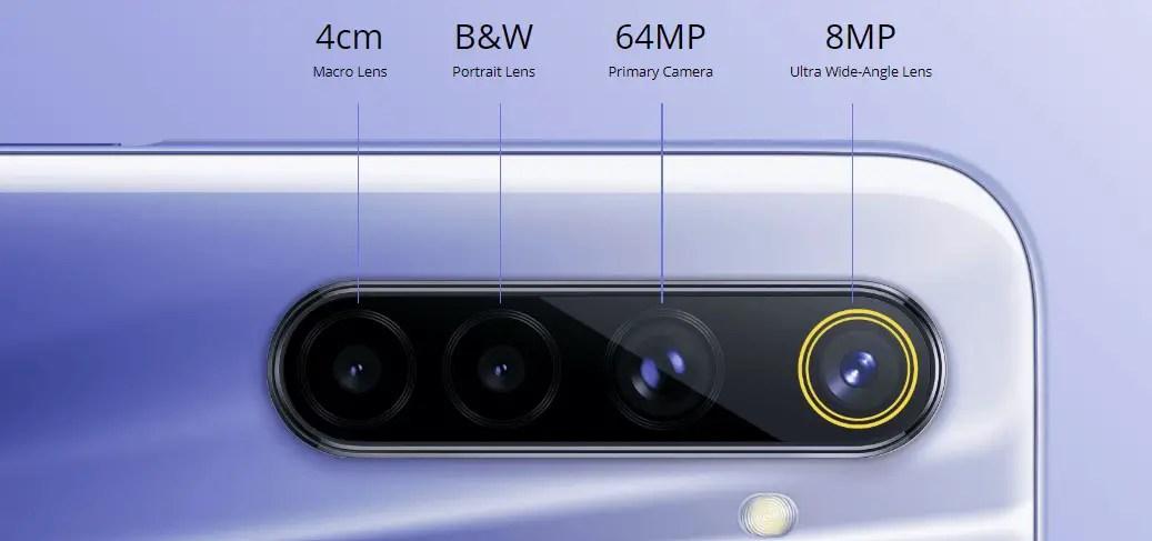 realme 6 camera