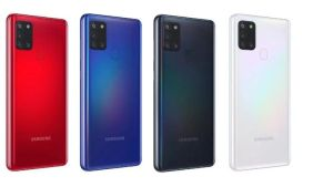 Samsung Galaxy A21s price in Nepal colors