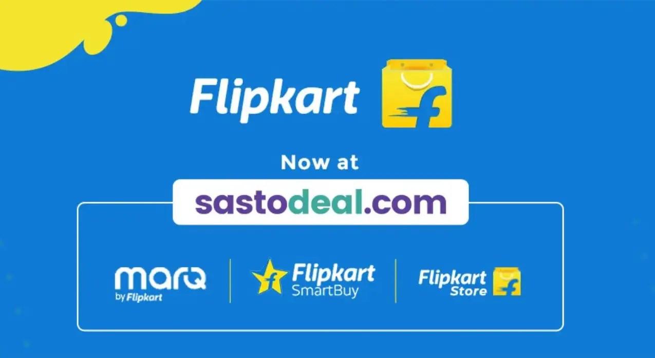 Flipkart Sastodeal shopping collaboration