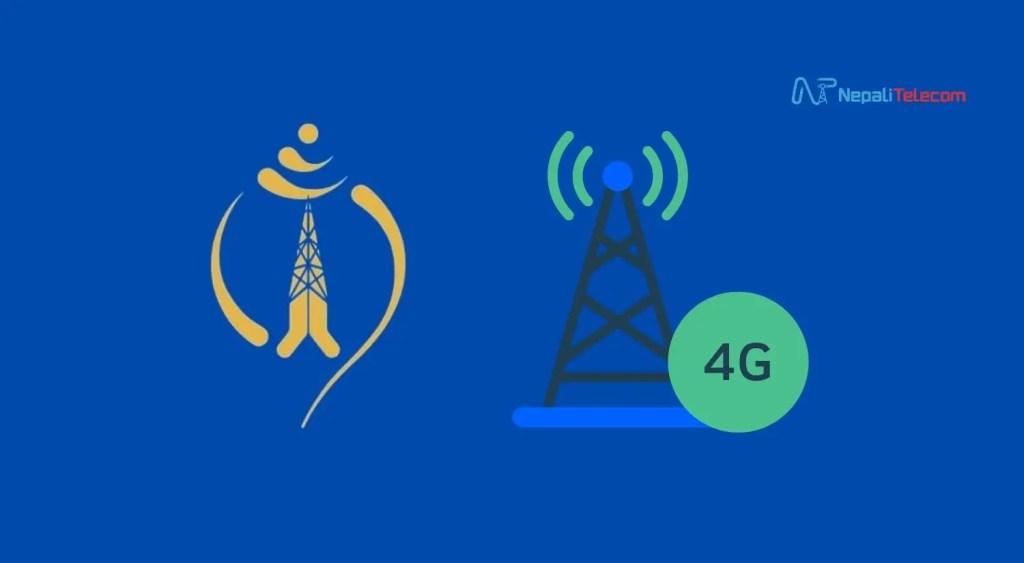 Nepal Telecom 4G spetrum frequency