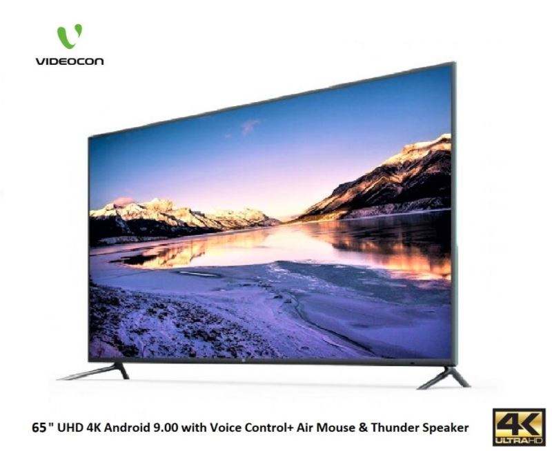 Videocon 65 inch UHD 4K LED TV Android 9.00