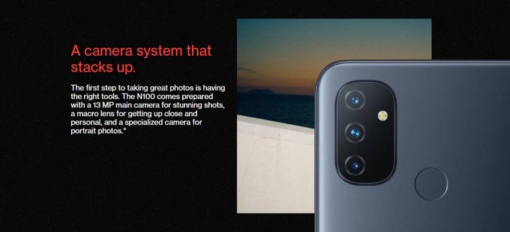 oneplus nord n100 specifications